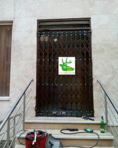 حفاظ درب ضد سرقت آپارتمان