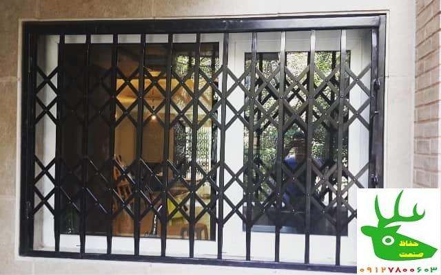 حفاظ پنجره آکاردئونی کشویی