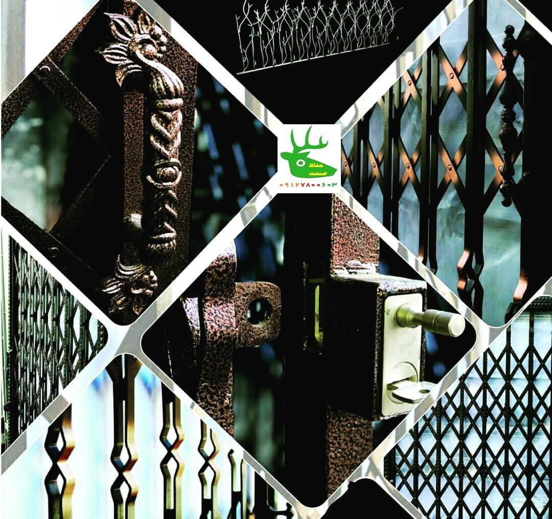 قفل حفاظ روی درب