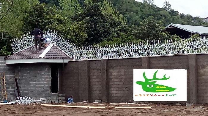 ساخت نرده دیوار