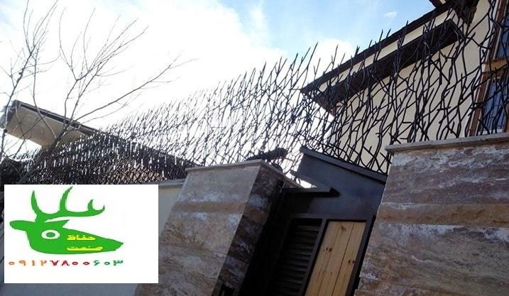 نرده-حفاظ-شاخ-گوزنی حفاظ صنعت
