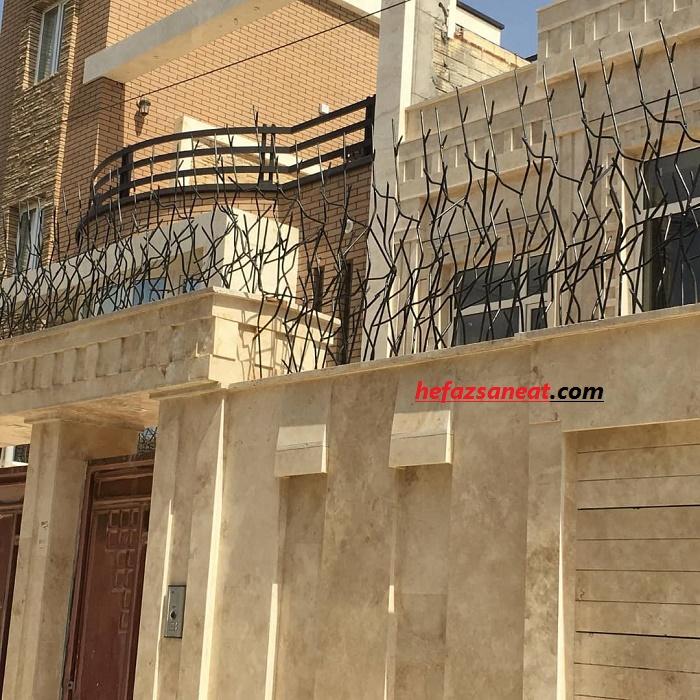 حفاظ دیوار مسکونی