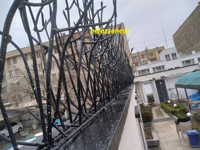 تراکم حفاظ بالای دیوار