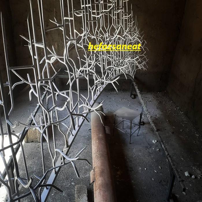 حفاظ فلزی دیوار