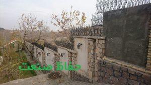 حفاظ شاخ گوزنی دیوار پله ای
