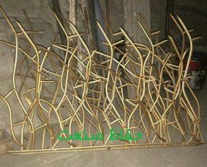 حفاظ شاخ گوزنی رنگ طلایی